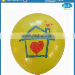 Printed Natural Latex Balloons for Promotion