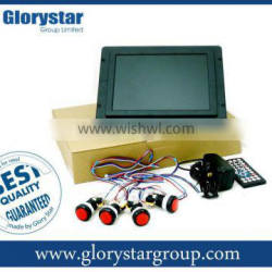 "10.4"" Open Frame LCD with button function"
