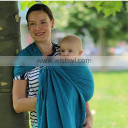 Pure linen high quality strong baby ring sling carrier outdoor portable
