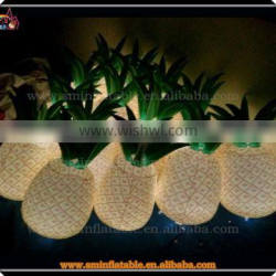 Inflatable fruit model, inflatable pvc pineapple, led pineapple for sale