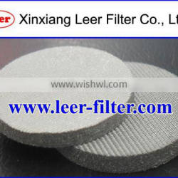 Micron Washable Sintered Metal Mesh Filter Disc