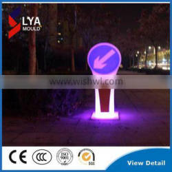 Factory Price Road Safety Sign Board with LED Light RGB
