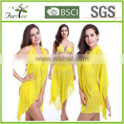 popular summer solid beach cover up