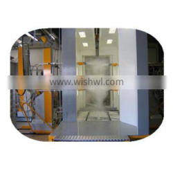 Advanced color powder coating line for aluminum door and window