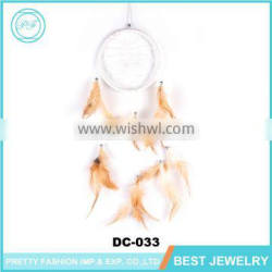Fashion Feather Dream Catcher Decoration,New Gift Indian Style ,Gypsy Dreamcatcher