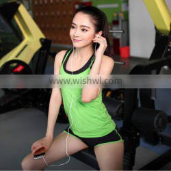 ZY0417A Summer three-piece quick-drying sports fitness yoga clothes