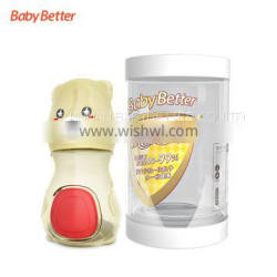 Baby Safety Products Antibacterial Temperature Sensing BPA Free Juice baby bottle joyshaker