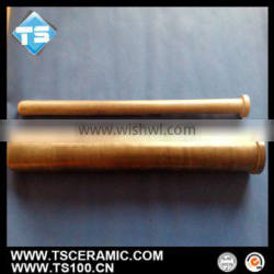 silicon nitride protect sheath for thermocouple and heater in casting