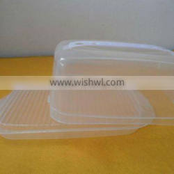 plastic box for bread