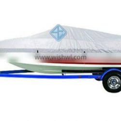Cheapest 22' - 24' Length 150D Silver Polyester Boat Cover