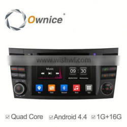 Ownice Android 4.4 dvd multimedia For Benz E200 E220 E240 E270 E280 with GPS Navigation Stereo WIFI 3G Bluetooth DVD
