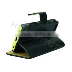 Leather Case For iPhone 5c , Flip Covers For iPhone 5c Mobile Case
