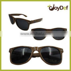 2016 popular 100% handmade Natural Wooden sunglasses