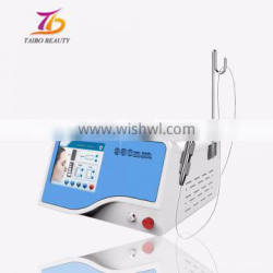 Latest technology 980nm varicose veins removal diode laser/various red blood silk removal/980nm diode laser vascular removal