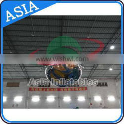Advertising Inflatable Mirror Sphere Decor / Inflatable Mirrorball For Club / Disco Inflatable Sliver Ball