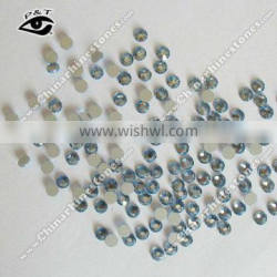 SS12 Lt sapphire crystals for nail art flat back DMC rhinestone for dress