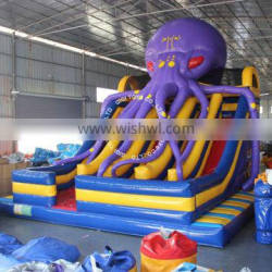 Cheap Kids Inflatable Octopus Slide Inflatable Bouncer