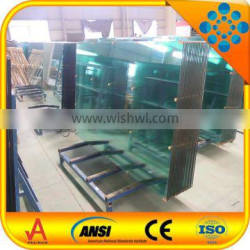 export 12mm clear toughened glass price