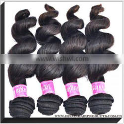 2013 Top Selling Wholesale High Quality 100% Unprocessed Grade 5A Loose Curly Virgin Peruvian Hair