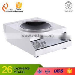3500kw 220v powered Hotel Restaurant Commercial Stainless Steel Induction Cooker Factory H35CX