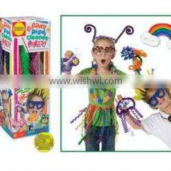 Supply I-Cute 60pcs/box jumbo pipe cleaners with assorted colors
