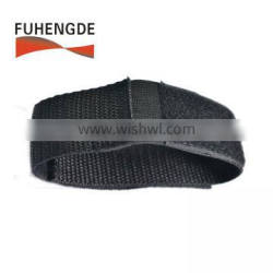 China supplier Elastic webbing strap with hook loop fastening