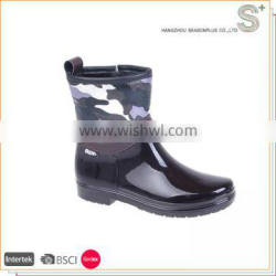 Durable using low price pvc rain boots for sale