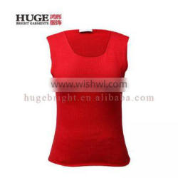 Competitive Price Sleevesless Women'S V Neck Sweater Vest