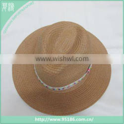 hot sale of natural papyrus fashion summer beach hat