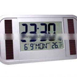 (RC020) Solar Radio Controlled Wall Clock