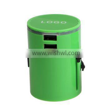2016 new Universal travel adapter with USB Chargers