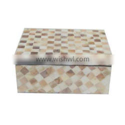 Mother of pearl inlaid gift box