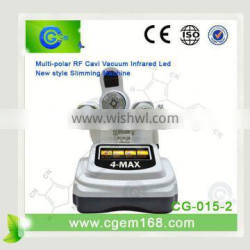 CG-015-2 hot selling !! portable high quality effective 4 in 1 laser cavitation rf slim machine (CE approval)