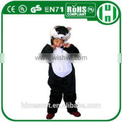 HI CE certificates comfortable funny kids animal costumes for sale