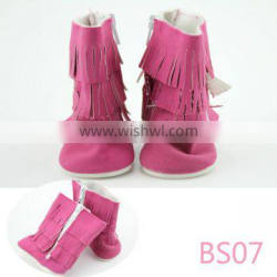 Wholesale new style 18 american girl doll tassel shoes