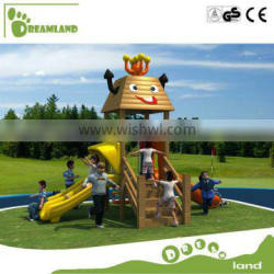 Top quality animal theme new children wooden outdoor playground