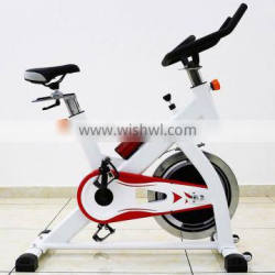 Professional Spin Bike Indoor Cycle Exercise Bike with 18 kg Flywheel