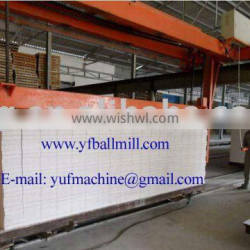 sand type AAC block production line Autoclave plant --Yufeng Brand