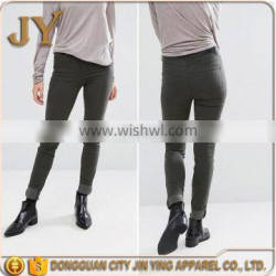 China Manufacturer New Design Women Pants Girl's Jeans Jeans Trousers Women Wear