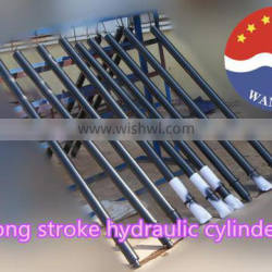 double acting long 3m stroke STEEL hydraulic cylinder