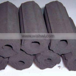 SAWDUST BRIQUETTE CHARCOAL FOR BBQ LONG BURNING TIME AND HIGH QUALITY (mary@vietnambiomass.com)