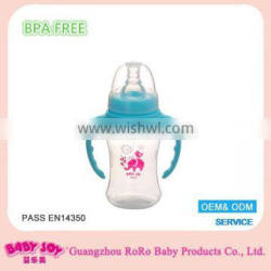100% food grade non-toxic plastic baby bottle