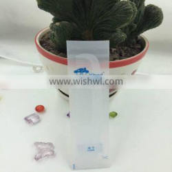 2016OEM China factory plastic white hotel comb with bag
