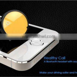multifunction wireless bluetooth healthy call sterilization car oxygen bar phone auto charging one with two phones auto pairing