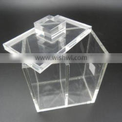 clear acrylic storage case, boxes storage with lids china supplier
