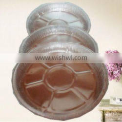 circular aluminium containers is well used for food catering