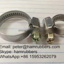 Stainless Steel Germen Type Hose Clamp