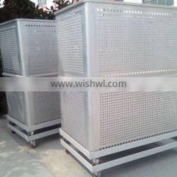 OEM Aluminum turnover container with casters, cargo tansfer container