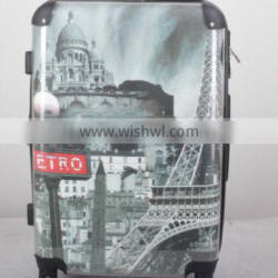 fashionable 100%PC hard trolley suitcase goods carrying luggage set