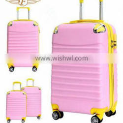 Girls sky travel wheels luggage
